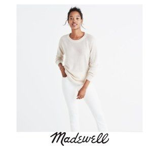 Madewell | Wafflestitch Pullover Sweater